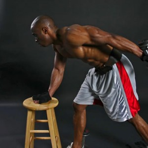 triceps-workout-met-gewichten