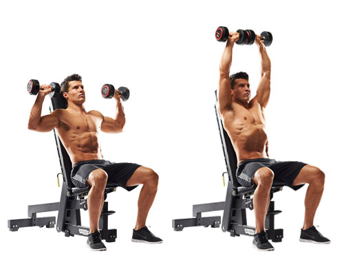 schouders-dumbell-press