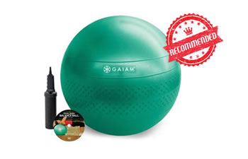 gaiam-fitness-bal-65-reviewed