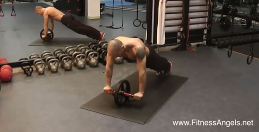 push up hold